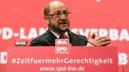 Landesparteitag der SPD Baden-Württemberg © picture alliance / Franziska Kraufmann Fotograf: Franziska Kraufmann
