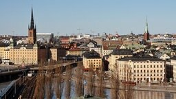 Stadtansicht der schwedischen Hauptstadt Stockholm © NDR Foto: Ariane Peters