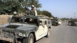 US-Soldaten im Irak © dpa Foto: Carl Schulze