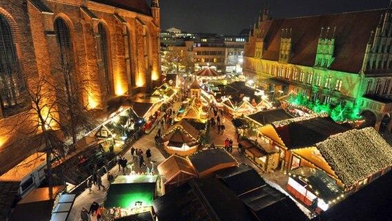 Hannover Weihnachtsmarkt.Weihnachtsmarkt In Hannover 2019 Ndr De Ratgeber Reise