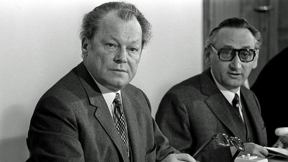 Willy Brandt und Egon Bahr, 1972 © picture-alliance / Sven Simon Foto: SVEN SIMON