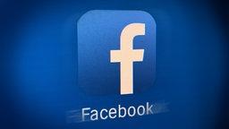 Das Logo von Facebook © NDR