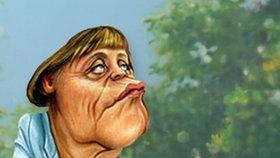Karikatur von Angela Merkel © NDR