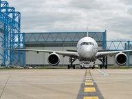 Der Airbus A350 XWB vor seinem ersten Probeflug © Airbus