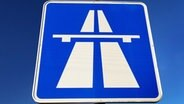 Autobahnschild © dpa/picture-alliance