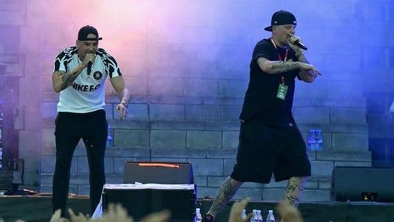 Hamburger Skandal-Rapper: Großeinsatz bei Konzert von Bonez MC und Raf Camora