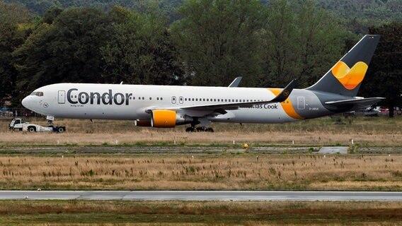 Thomas Cook-Pleite: Condor-Plakat in Braunschweig verunstaltet