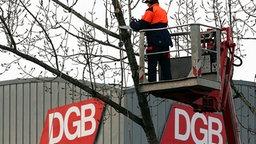 Deutscher Gewerkschaftsbund © picture-alliance/dpa