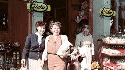 Edeka-Laden um 1950 © Edeka