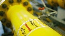 Erdgas-Rohrleitung