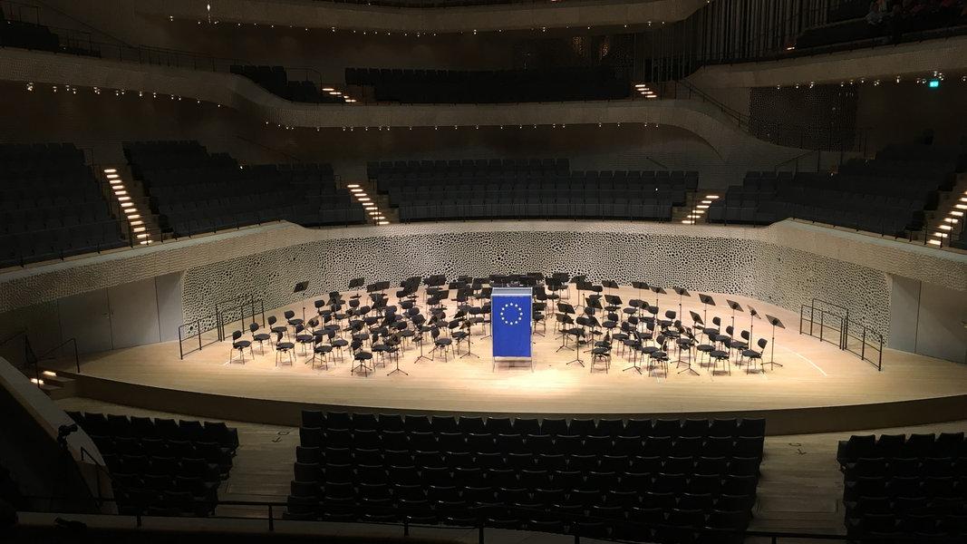 Europawahl in der Elbphilharmonie