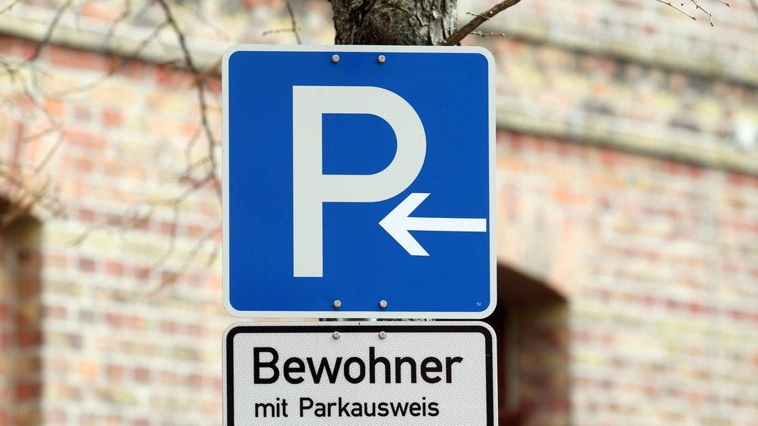 Anwohner-Parkgebühren in MV häufig an Obergrenze