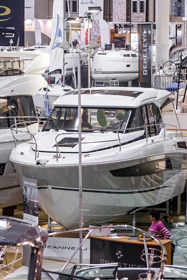 Hamburg Boat Show beginnt in den Messehallen