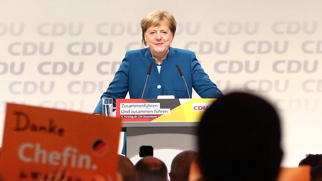 ¿Quién hereda Merkel? Convención del partido en Hamburgo comenzó | NDR.de - Noticias