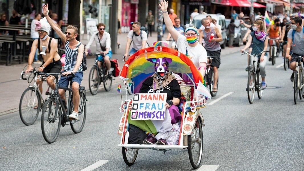 CSD in Hamburg: Fahrrad-Demo statt große Parade | NDR.de ...