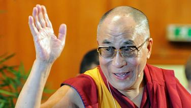 Dalai Lama © dpa Foto: Angelika Warmuth