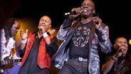 Die Band Earth Wind and Fire bei einem Konzert 2013 © Imago Fotograf: Imago