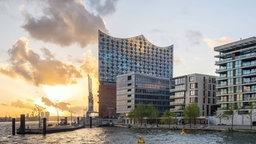 Häuser neben der Elbphilharmonie in der Hamburger Hafencity. © picture alliance/robertharding Foto: Jason Langley