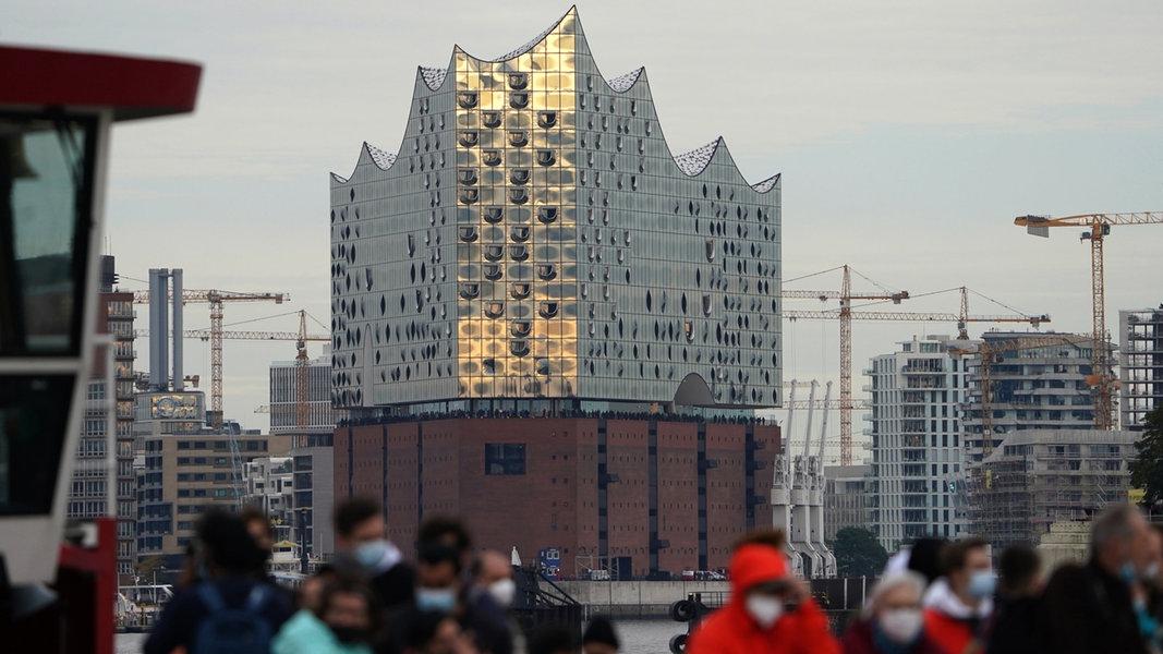Image Corona-News-Ticker: Sieben-Tage-Inzidenz steigt in Hamburg auf 99,0 - NDR.de