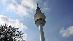 Der Hamburger Fernsehturm. © NDR Fotograf: Heiko Block