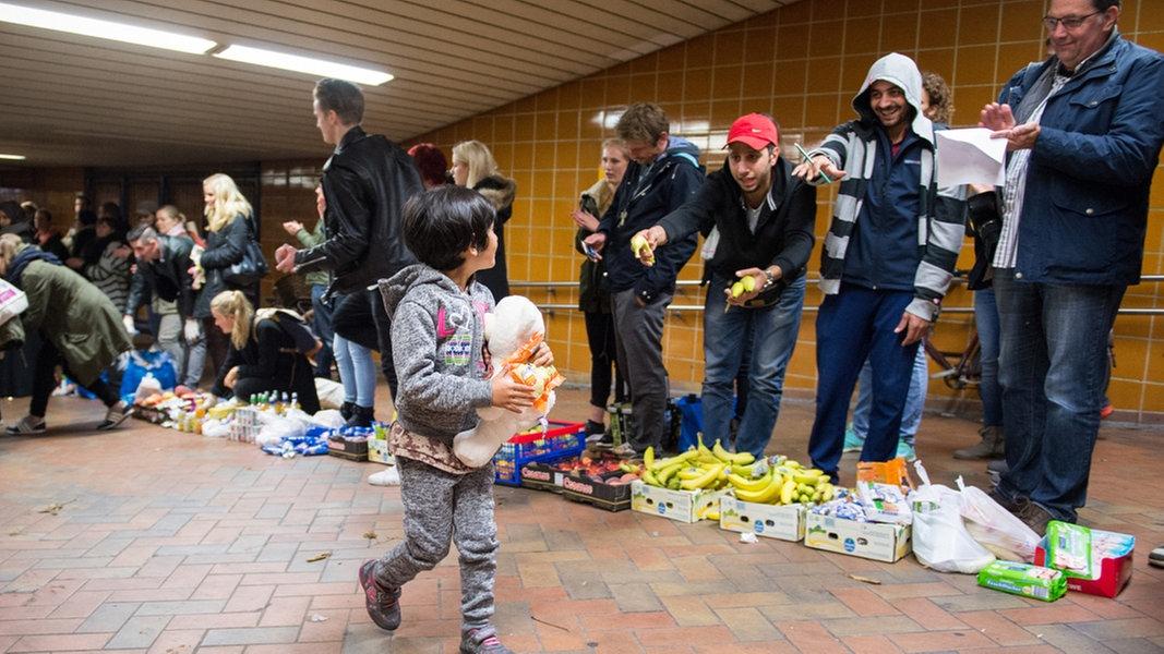 Flüchtlinge Willkommen Hamburg