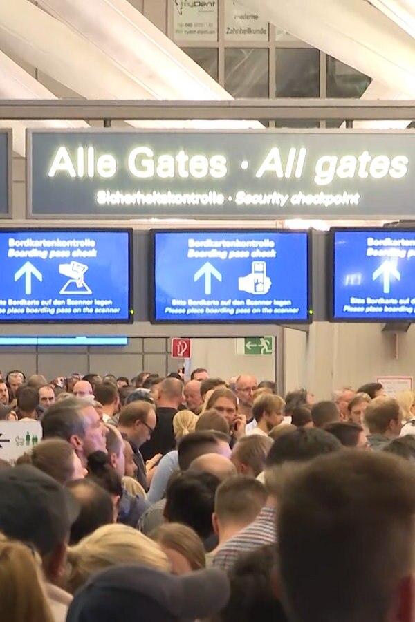Airport-Sperrung: Mann wohl verhaltensauffällig