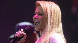 Shakira singt am 06.07.2017 in Hamburg beim ersten Global Citizen Festival-Konzert.  © dpa Bildfunk Fotograf: Georg Wendt