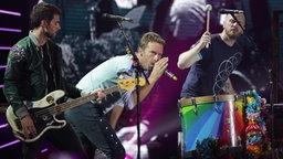 Chris Martin mit seiner Band Coldplay singt am 06.07.2017 in Hamburg beim ersten Global Citizen Festival-Konzert. © NDR Fotograf: Axel Herzig