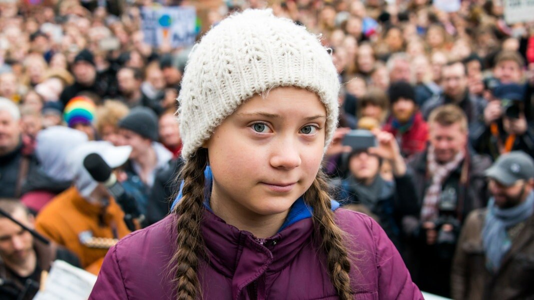 """Fridays for Future"": Klima-Demo mit Greta Thunberg in Hamburg"