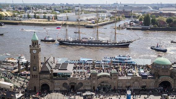 Hafengeburtstag Hamburg 2021