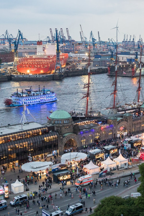 Eröffnung Hamburger Hafen