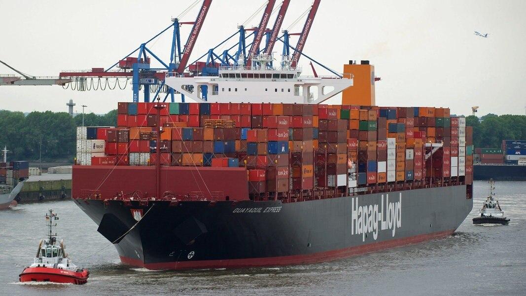 Hamburger Hafen legt wieder zu