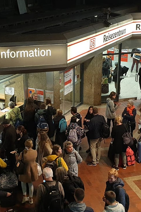 Kurzes Unwetter sorgt für Bahn-Probleme