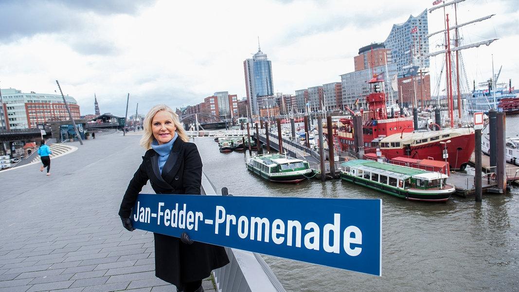 Hamburg soll Jan-Fedder-Promenade an der Elbe bekommen