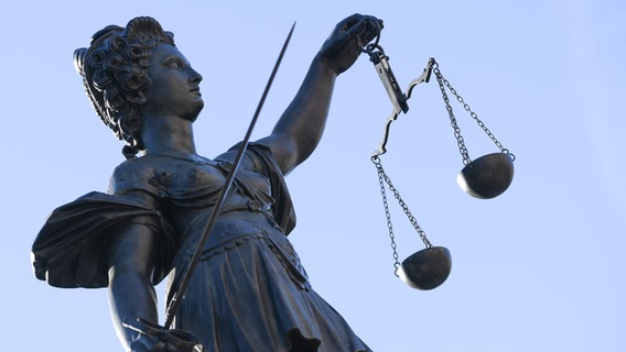 Justitia. © picture alliance/dpa Foto: Arne Dedert