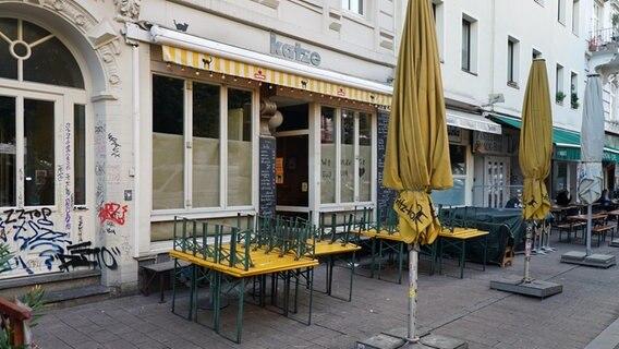 """Die Bar """"Katze"""" im Hamburger Schanzenviertel. © picture alliance/rtn - radio tele nord Foto: rtn, frank bründel"""