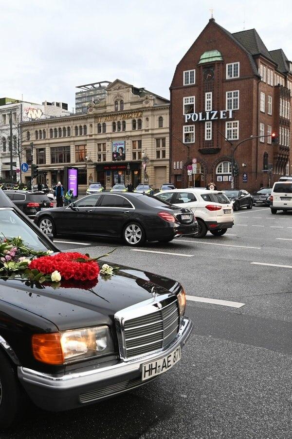 Trauerfeier im Michel: Abschied von Jan Fedder