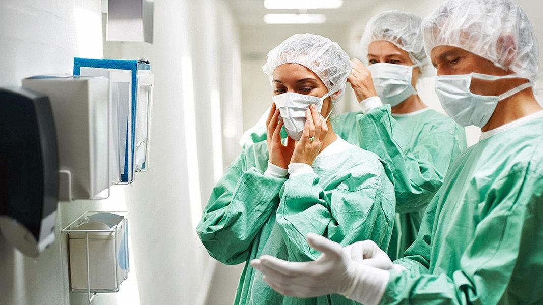 Immer mehr Ärzte und Pfleger mit Coronavirus infiziert