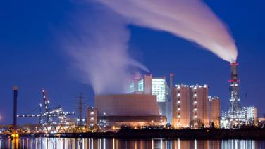 Dampf steigt aus den Schornsteinen und Kühltürmen des Kohlekraftwerks Moorburg in Hamburg. © dpa Fotograf: Daniel Reinhardt