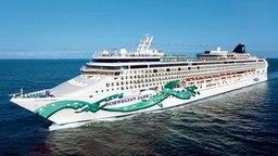 """Die """"Norwegian Jade"""" der Reederei Norwegian Cruise Line. © Norwegian Cruise Line"""