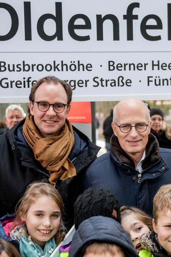 U-Bahn-Haltestelle Oldenfelde ist eröffnet