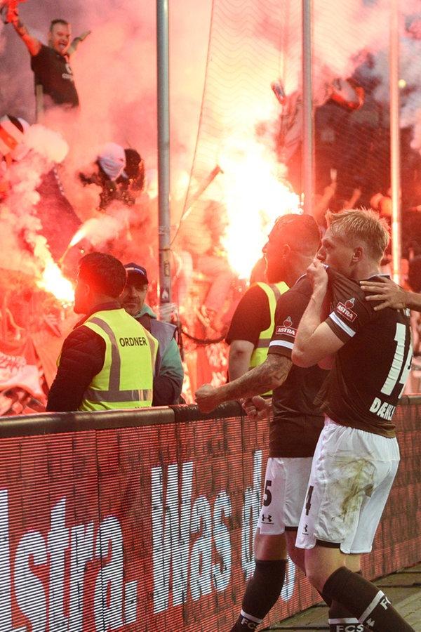 """""""Sensationell"""": Wie St. Pauli-Fans den Derby-Sieg erlebten"""