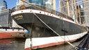 """Der Großsegler """"Peking"""" liegt im Museumshafen von Manhatten in New York. © akg Fotograf: akg-images / Jürgen Raible"""