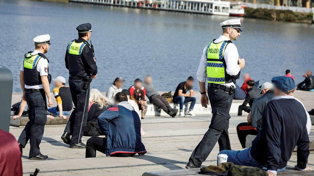 Corona-Verstöße: Hamburg nimmt 650.000 Euro ein