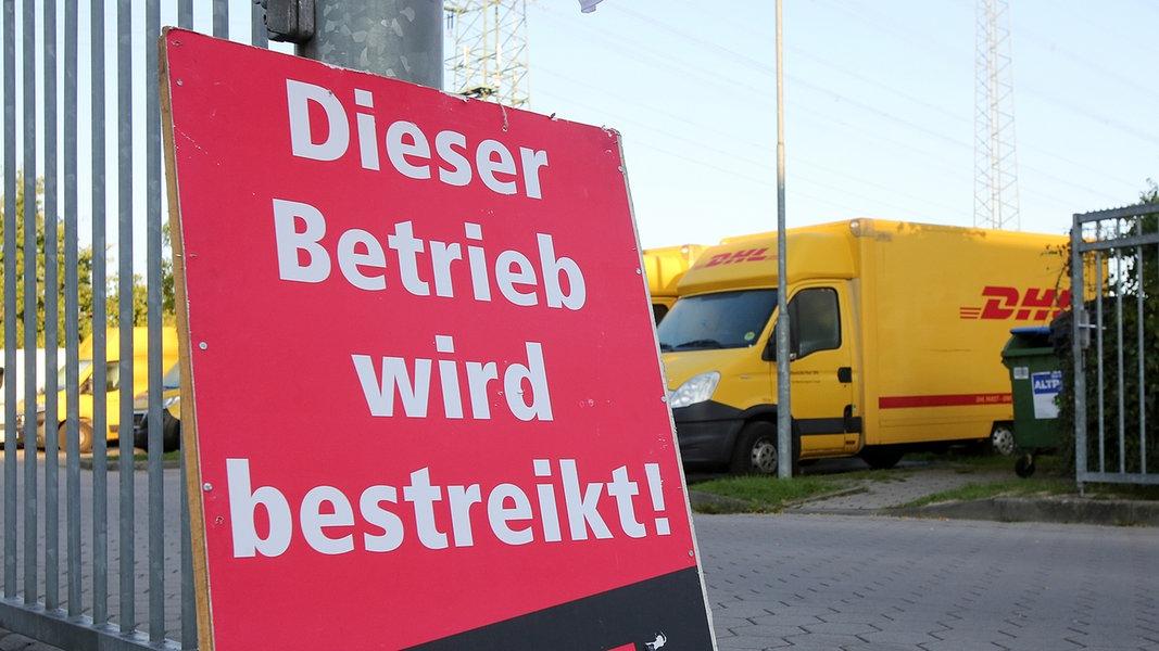 Post-Warnstreik: Briefe und Pakete bleiben liegen