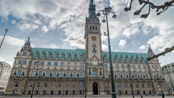 Das Rathaus in Hamburg. © picture alliance / rtn - radio tele nord