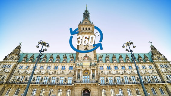 360-Grad-Rundgang durch das Hamburger Rathaus. © picture alliance/Bildagentur-online Foto: picture alliance/Bildagentur-online