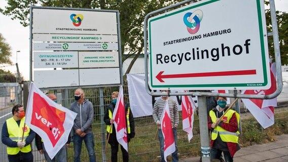 Stadtreinigung Recyclinghof Hamburg