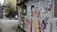 Graffito an der Schilleroper in Hamburg  Foto: Oliver Diedrich