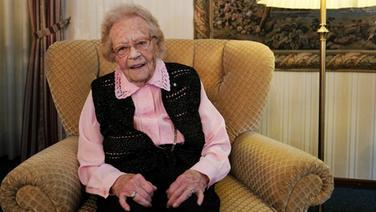 Die gebürtige Remscheiderin Lydia Smuda feierte in Hamburg ihren 110. Geburtstag. Foto: NDR